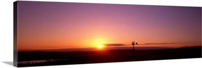 Sunset near Melbourne Victoria Australia