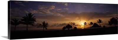 Sunset Oahu HI