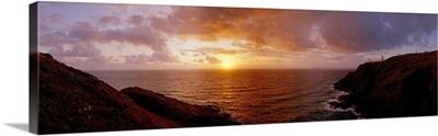 Sunset Oceanscape England