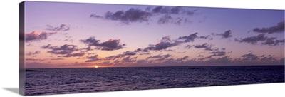 Sunset over the sea, Anguilla