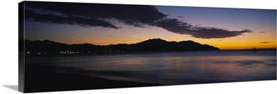Sunset over the sea, Playa Del Coco, Liberia, Guanacaste, Costa Rica