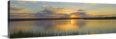 Sunset over the waterway, Amelia Island, Florida