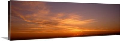 Sunset ovr Lake Michigan Chicago IL