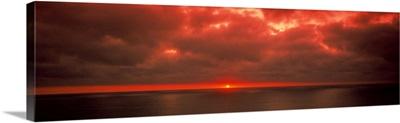 Sunset Pacific Ocean CA