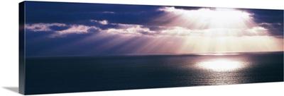 Sunset Pacific Ocean San Diego CA
