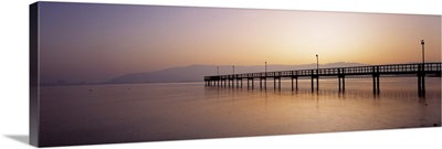 Sunset Pier San Francisco CA