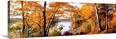 Sunset, Sacandaga Lake, Adirondack Mountains, New York State