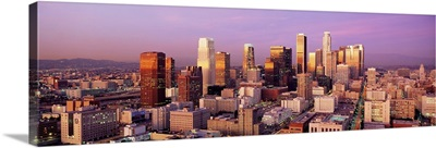 Sunset Skyline Los Angeles CA
