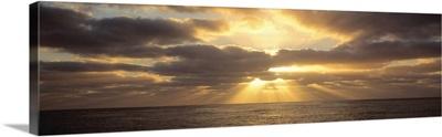 Sunset Sub Antarctic Australia