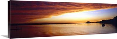 Sunset Upper Ottawa River Pembroke Ontario Canada
