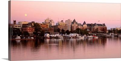 Sunset Victoria British Columbia Canada