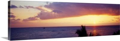 Sunset Waikiki Beach HI