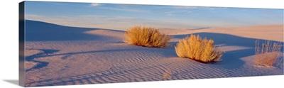 Sunset White Sands National Monument NM