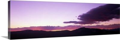 Sunset Yellowstone National Park WY