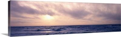 Sunsetover the sea, Pacific Ocean, California