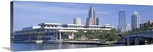 Tampa Convention Center Skyline Tampa FL