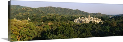 Temple in the forest, Jain Temple, Ranakpur, Rajasthan, India