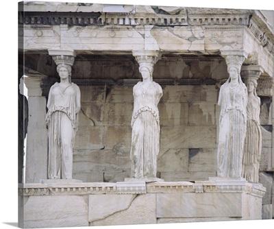Temple of Athena Nike Erectheum Acropolis Athens Greece