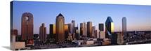 Texas, Dallas, sunrise