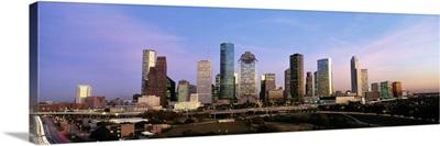 Texas, Houston, twilight