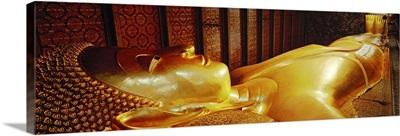 Thailand, Bangkok, Wat Po, Reclining Buddha