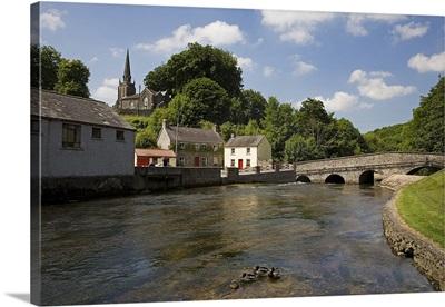 The Awbeg River and Bridge, Castletownroche, County Cork, Ireland