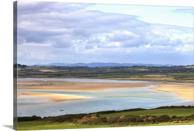 The Backstrand in Tramore Bay, Tramore, County Waterford, Ireland