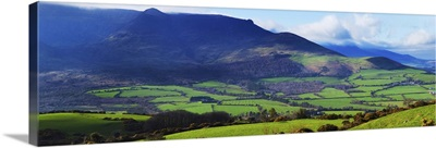The Comeragh Mountains from the east,County Waterford, Ireland
