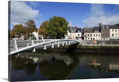 The Millenium Foot Bridge, Over the River Lee, Cork City, Ireland