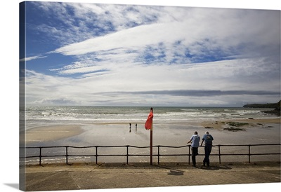 The Promenade and Beach, Tramore, County Waterford, Ireland