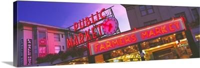 The Public Market Seattle WA