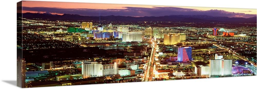 The Strip Las Vegas Nv Wall Art Canvas Prints Framed Prints Wall Peels Great Big Canvas