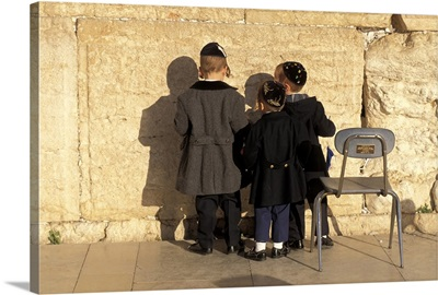 The Wailing Wall Jerusalem Israel