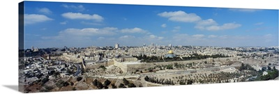 The Western Wall And Old City Jerusalem Israel