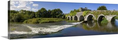 Thirteen Arch Bridge over the River Funshion, Glanworth, County Cork, Ireland