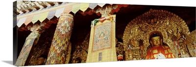 Tibet, Sakya Monastery, interior