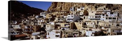 Town on a hillside, Maaloula, Syria