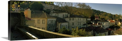 Town on the hillside, Old Town, Sintra, Lisbon, Portugal