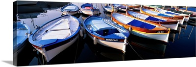 Traditional Fishing Boats Villefranche-sur-Mer France