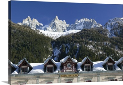 Train Station, Mont Blanc, French Alps, France
