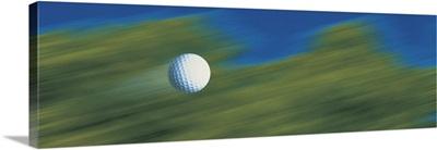 Traveling golf ball