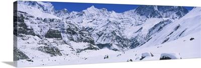 Trekkers Annapurna Base Camp Nepal