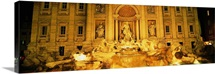 Trevi Fountain Rome Italy