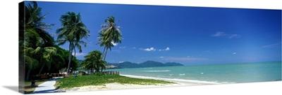 Tropical Beach Penang Malaysia
