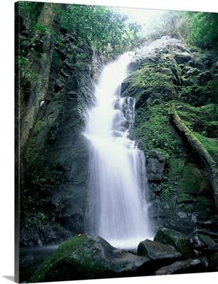 Tropical Waterfall Costa Rica