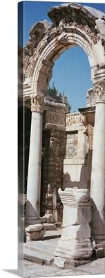 Turkey, Ephesus, building facade