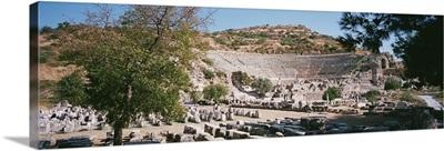Turkey, Ephesus, main theater ruins