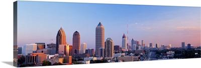 Twilight Skyline Atlanta GA