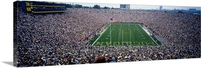 University Of Michigan Football Game, Michigan Stadium, Ann Arbor, Michigan