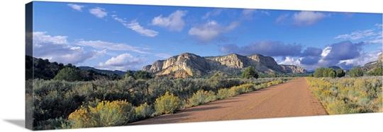 Utah Grand Staircase Escalante National Monument Johnson Canyon White Cliffs Empty